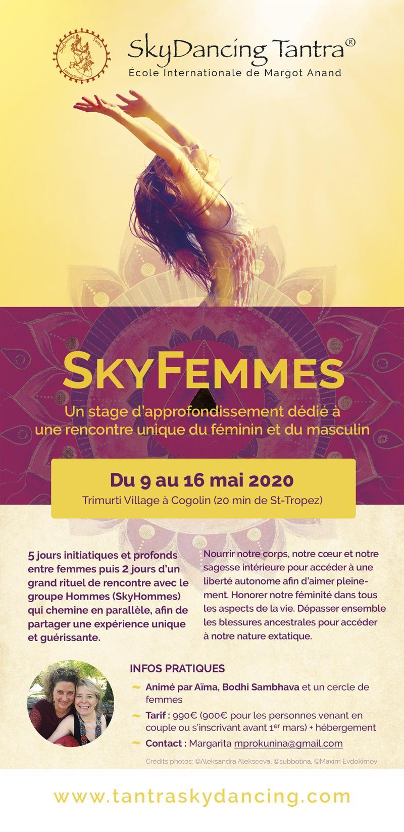 SkyHommes-SkyFemmes du 9 au 16 mai 2020
